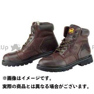 【エントリーで更にP5倍】コミネ SB-21 ショートブーツ カラー:ブラウン サイズ:24.5cm KOMINE