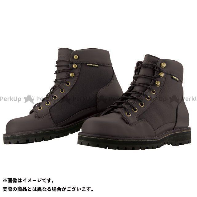 送料無料 コミネ KOMINE ライディングブーツ BK-065 GORE-TEX ショートブーツ ブラック 25.0cm