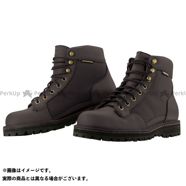 送料無料 コミネ KOMINE ライディングブーツ BK-065 GORE-TEX ショートブーツ ブラック 27.5cm