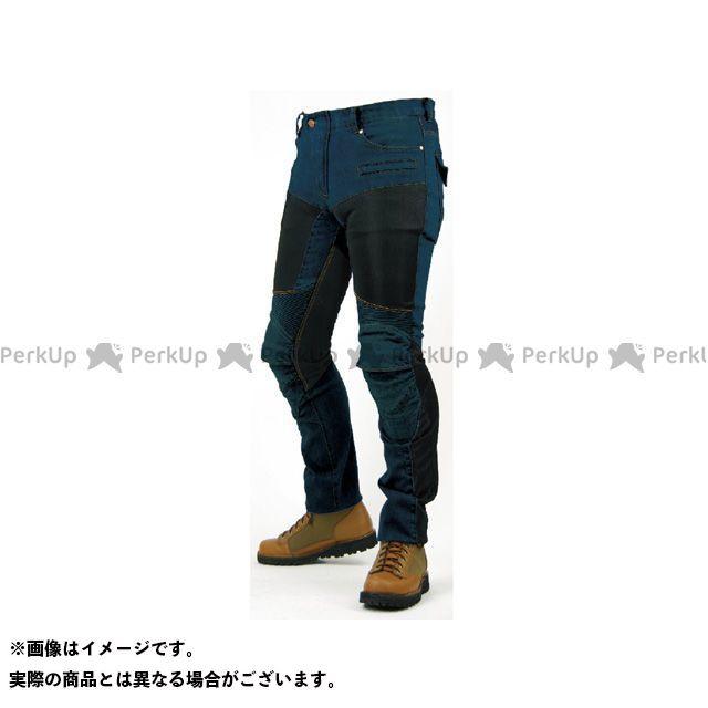 コミネ PK-719 スーパーフィットケブラーメッシュデニムジーンズ カラー:ワンウォッシュブルー サイズ:5XLB/46 KOMINE