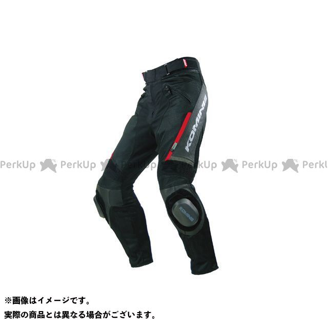 コミネ PK-717 スポーツライディングレザーメッシュパンツ カラー:ブラック サイズ:L メーカー在庫あり KOMINE