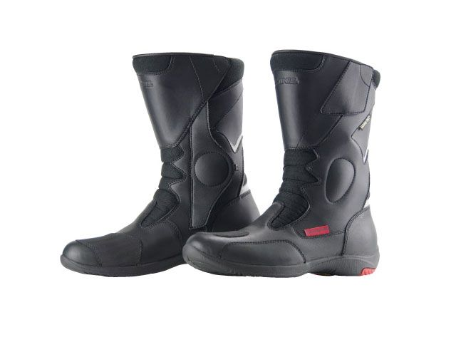 送料無料 コミネ KOMINE ライディングブーツ BK-069 GORE-TEX(R)ライディングブーツ-オルティガーラ(ブラック) 26.0cm