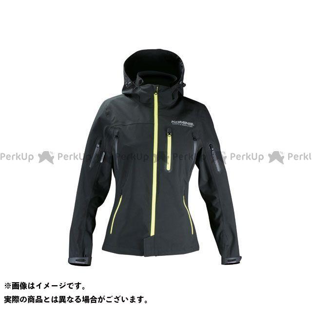 コミネ JK-555 WPプロテクション3L-パーカ レディース カラー:ブラック/ネオン サイズ:WL KOMINE