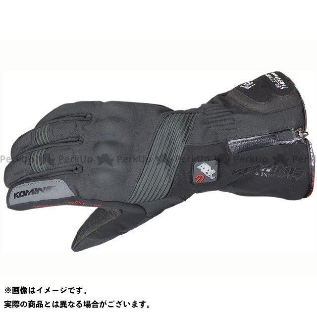 コミネ GK-804 エレクトリックヒートグローブ カシウス ブラック 3XL メーカー在庫あり KOMINE