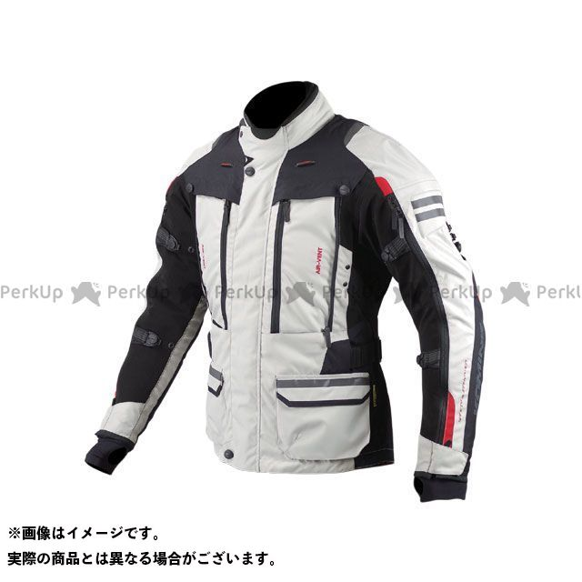 コミネ KOMINE ジャケット バイクウェア コミネ JK-574 フルイヤーツーリングジャケット ラーマII アイボリー/ブラック L KOMINE