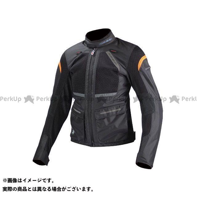送料無料 コミネ KOMINE ジャケット JK-102 プロテクトツーリングメッシュジャケット ブラック SL