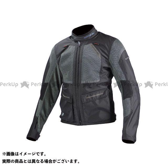 送料無料 コミネ KOMINE ジャケット JK-102 プロテクトツーリングメッシュジャケット ブラック/グレー SM