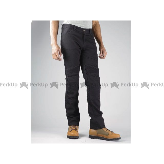 送料無料 コミネ KOMINE パンツ WJ-730S スーパーフィットケブラージーンズ ライト ブラック XL/34