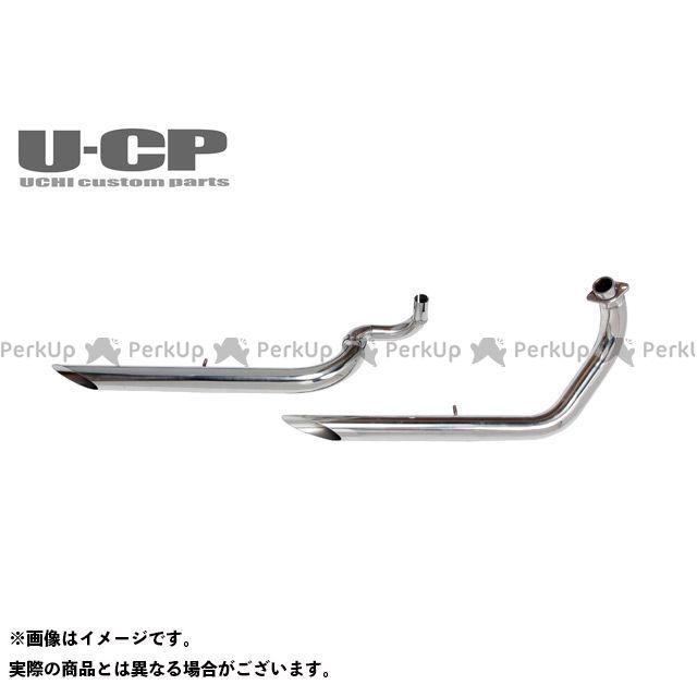 ウチカスタム Vツインマグナ V-TWINマグナ250ステンレススラッシュカットマフラー Uchi Custom Parts