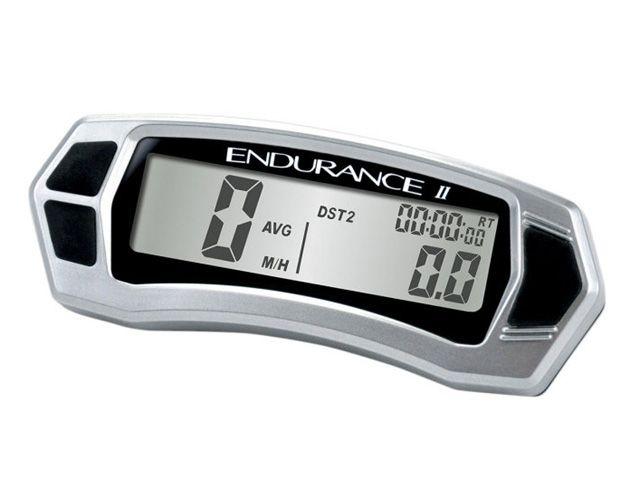 トレイルテック DR650 KDX200R KDX220R メーターキット関連パーツ デジタルメーターキット(Endurance II) シルバー