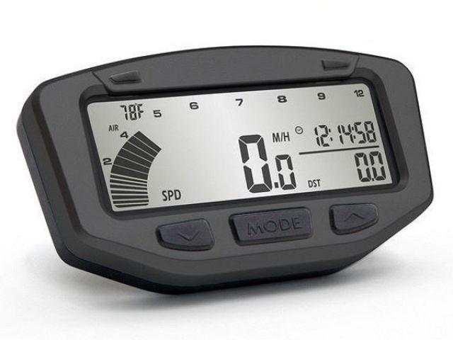 トレイルテック TRAIL TECH メーターキット関連パーツ デジタルメーターキット(Vapor)KTM - SX/MXC/EXC/XC/XC-W 04-07 - ラジエタースクリュー温度センサー ブラック