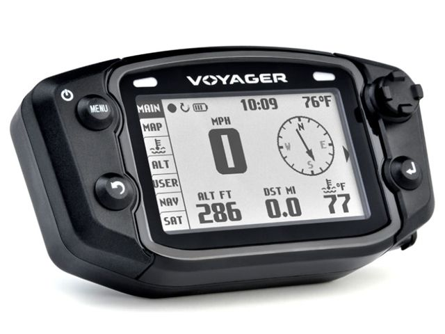 トレイルテック CR500R CRF450R メーターキット関連パーツ VOYAGER GPS デジタルメーターキット 912-800