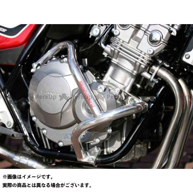 ゴールドメダル CB400スーパーフォア(CB400SF) スラッシュガード サブフレームタイプ カラー:ブラック GOLD MEDAL