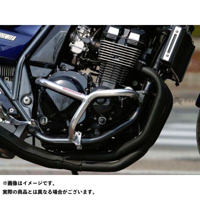 ゴールドメダル ZRX400 スラッシュガード サブフレーム付 カラー:バフ仕上げ GOLD MEDAL