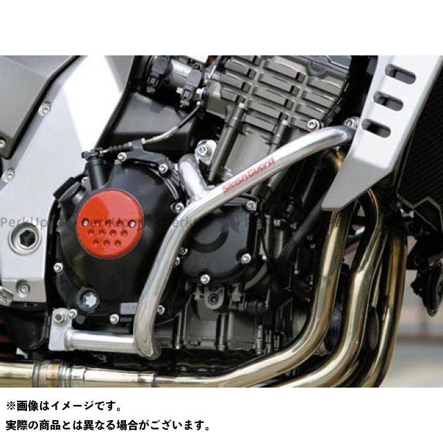 ゴールドメダル Z1000 スラッシュガード サブフレーム付 カラー:レッド GOLD MEDAL