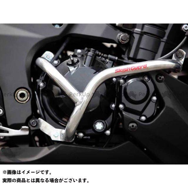 ゴールドメタル Z1000 エンジンガード スラッシュガード サブフレームタイプ シャンパンゴールド