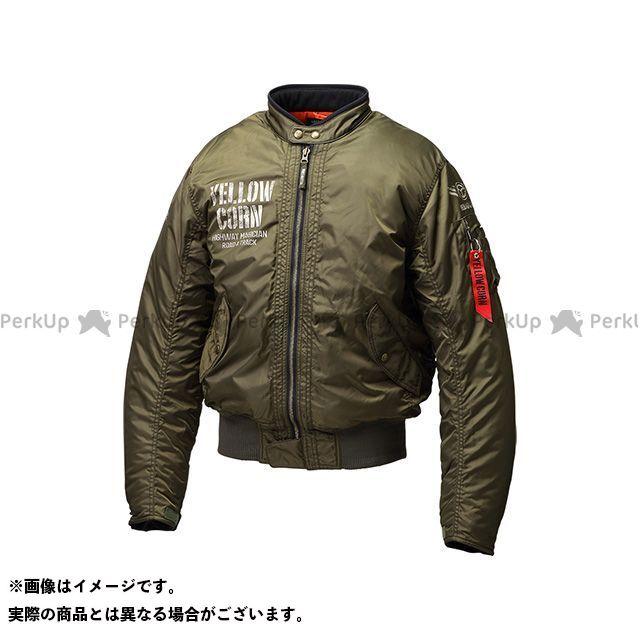 イエローコーン YeLLOW CORN ジャケット バイクウェア イエローコーン 2021-2022秋冬モデル YB1321 ジャケット(カーキ) サイズ:LL YeLLOW CORN