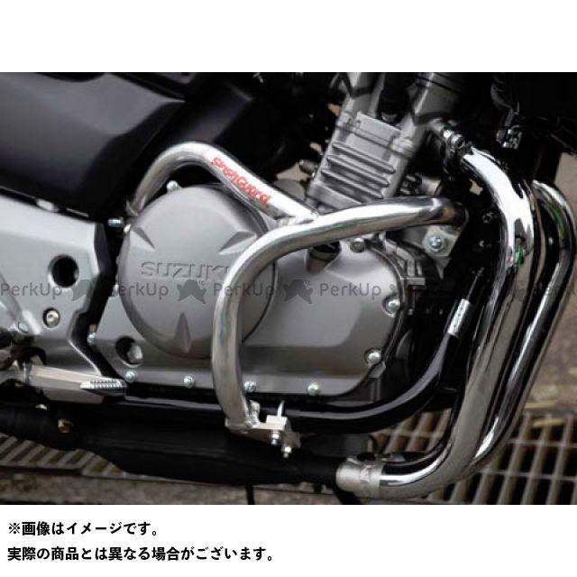 ゴールドメダル GSR250 GSR400 スラッシュガード サブフレームタイプ カラー:バフ仕上げ GOLD MEDAL