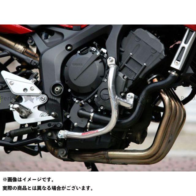 ゴールドメダル FZ6フェザーS2 FZ6-N FZ6-Sフェザー スラッシュガード スタンダードタイプ カラー:レッド GOLD MEDAL