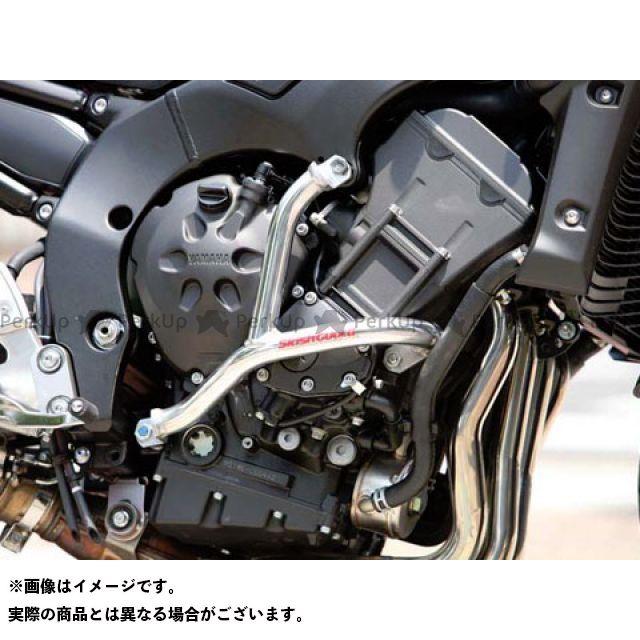 ゴールドメタル FZ1(FZ1-N) エンジンガード スラッシュガード スタンダードタイプ レッド