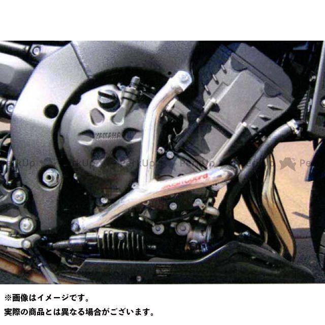 ゴールドメタル フェザー8 FZ8 エンジンガード スラッシュガード ブルー