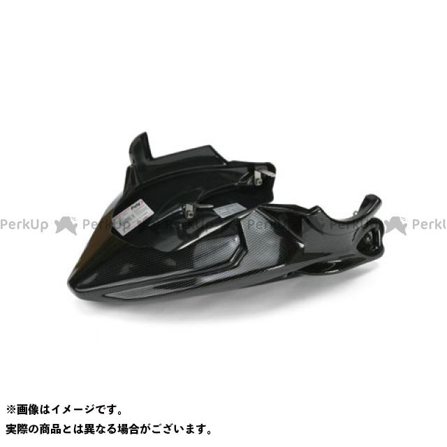 プーチ FZ6フェザーS2 エンジンスポイラー カラー:マットブラック Puig