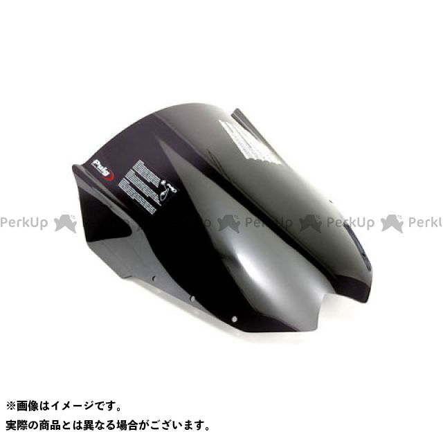 プーチ XJ6ディバージョン レーシングスクリーン カラー:ダークスモーク Puig
