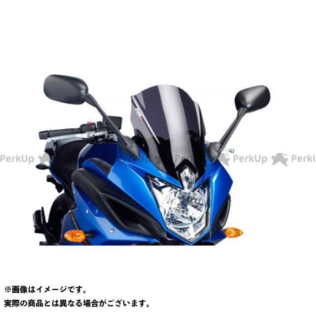 プーチ XJ6ディバージョンF レーシングスクリーン カラー:ダークスモーク Puig