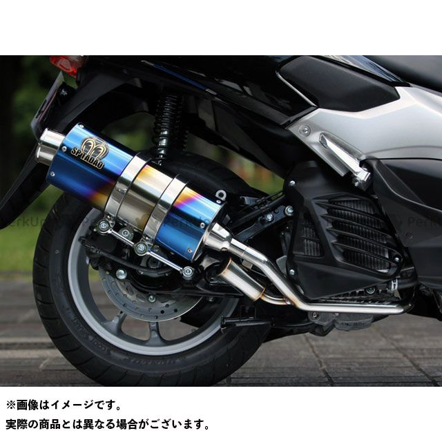 【エントリーで最大P21倍】SP忠男 エヌマックス125 POWER BOX FULL SilentVersion チタンブルー スペシャルパーツタダオ