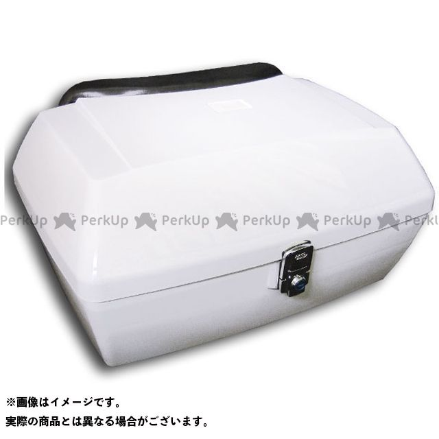 送料無料 ライズコーポレーション フュージョン フュージョン タイプX フュージョン タイプXX ツーリング用ボックス リアボックスASSY(白)