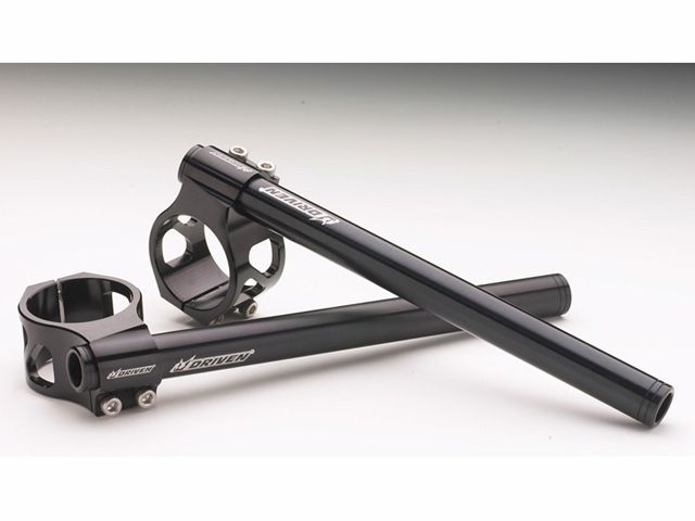 ドリブン DRIVEN ハンドル関連パーツ クリップオンハンドル KAWASAKI用(ブラック) EX250R 08- 37mm