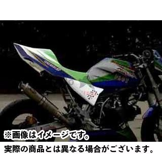 ノジマ KSR110 シートカウル Z110キット(レーシング) 白ゲル
