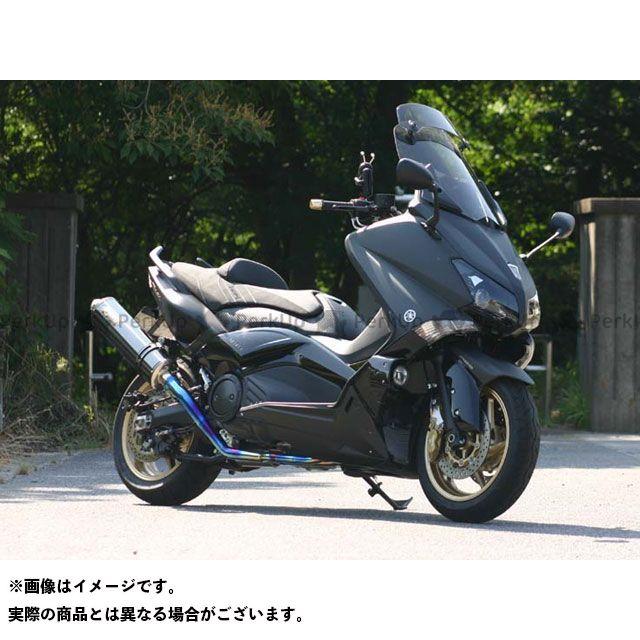 ノジマ TMAX530 マフラー本体 DLC-TITAN 2-1