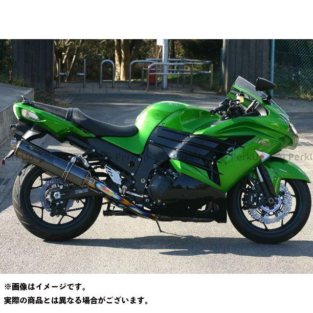ノジマ ニンジャZX-14R マフラー本体 DLC-TITAN S/O