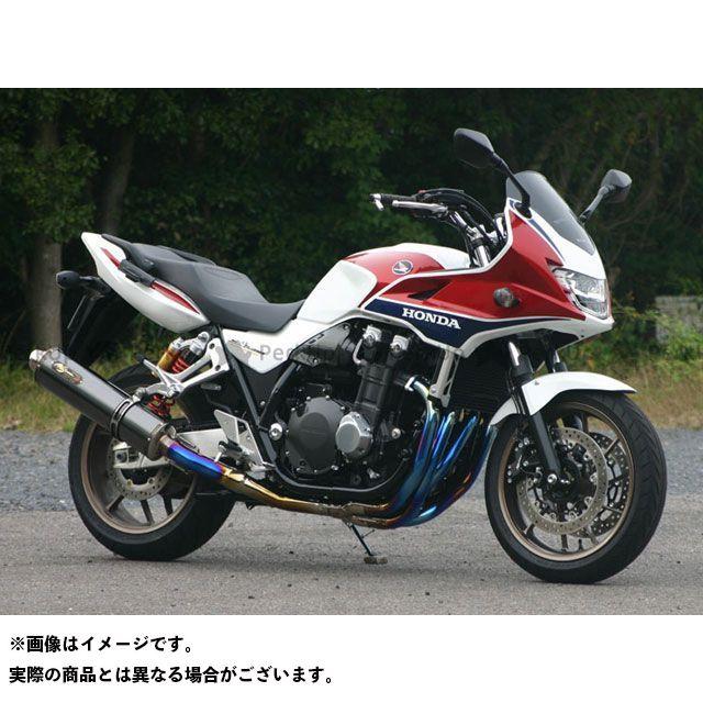 ノジマ CB1300スーパーボルドール マフラー本体 DLC-TITAN TYPE-SC