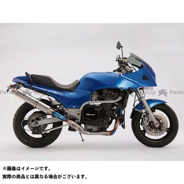 BMS ニンジャ900 マフラー本体 R-EVOフルエキ φ100ロング チタンソリッド