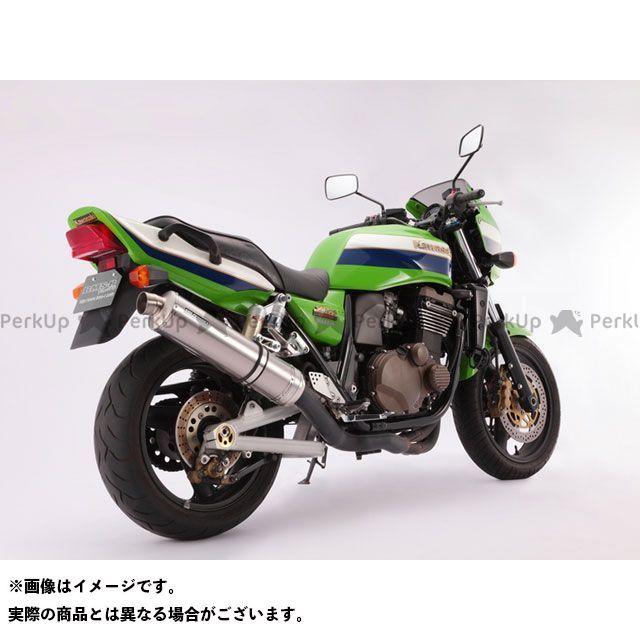【無料雑誌付き】BMS ZRX1200R R-EVO ボルトオン JMCA サイレンサー:チタンソリッド BMS RACING FACTORY