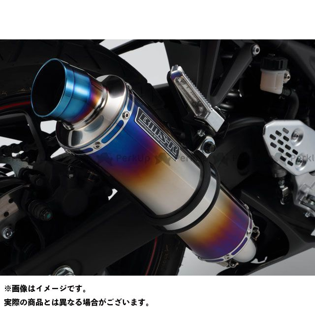 BMS YZF-R3 R-EVO スリップオン 政府認証 サイレンサー:ヒートチタン BMS RACING FACTORY