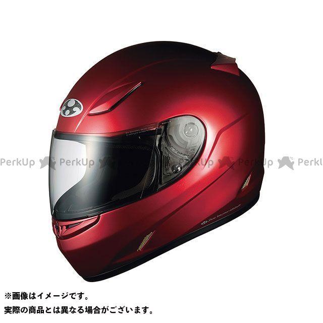 送料無料 OGK KABUTO オージーケーカブト フルフェイスヘルメット FF-R III シャイニーレッド XL/60-61cm