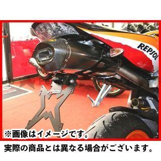 エボテック CBR1000RRファイヤーブレード CBR600RR ナンバープレートホルダー HONDA CBR1000RR(04-07)/600RR(03-06) フェンダーレスキット ホルダー単品 EVOTECH