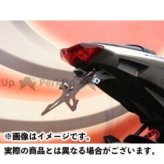 エボテック Z1000 ナンバープレートホルダー Kawasaki Z1000(10-13) フェンダーレスキット ホルダー単品 EVOTECH