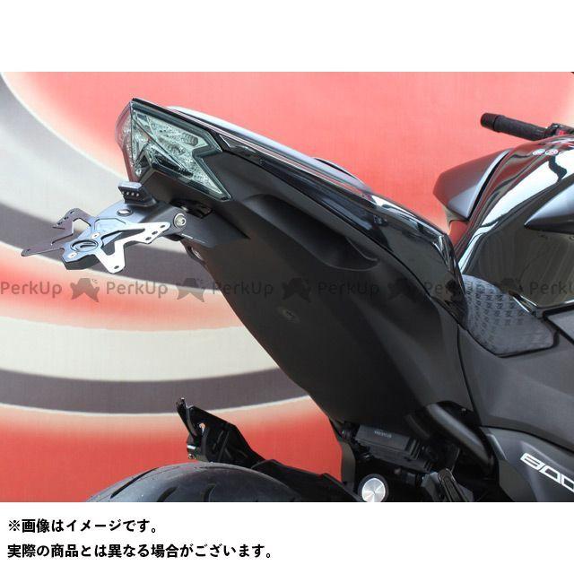 送料無料 エボテック Z800 その他外装関連パーツ ナンバープレートホルダー Kawasaki Z800 フェンダーレスキット ホルダー単品