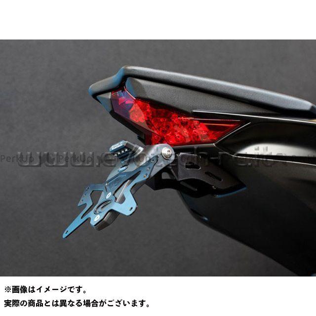 エボテック Z1000 ナンバープレートホルダー Kawasaki Z1000(14-) フェンダーレスキット 仕様:ホルダー単品 EVOTECH