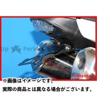 エボテック スピードトリプル ナンバープレートホルダー TRIUMPH SPEED TRIPLE(08-10) フェンダーレスキット 仕様:ホルダー単品 EVOTECH