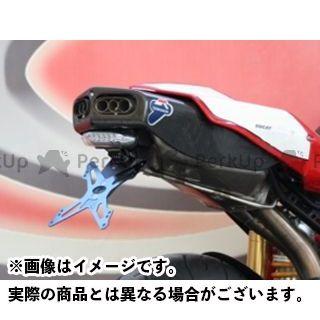 【エントリーで最大P21倍】エボテック 749 999 ナンバープレートホルダー Ducati 999/749 フェンダーレスキット 仕様:ホルダー単品 EVOTECH