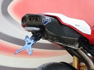 送料無料 エボテック 749 999 その他外装関連パーツ ナンバープレートホルダー Ducati 999/749 フェンダーレスキット -