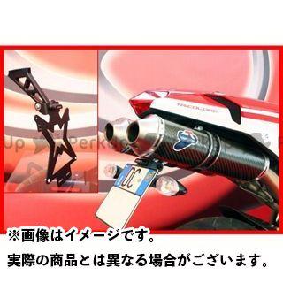 エボテック 1098 1198 848 ナンバープレートホルダー Ducati 1198/1098/848 フェンダーレスキット 仕様:ホルダー単品 EVOTECH