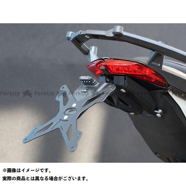 【無料雑誌付き】エボテック ハイパーモタード ハイパーモタードSP ナンバープレートホルダー Ducati Hypermotard/SP(13-) フェンダーレスキット 仕様:ホルダー単品 EVOTECH