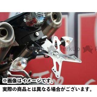 エボテック 950スーパーモト 950スーパーモトR 990スーパーモト ナンバープレートホルダー KTM 990 Supermoto/R/T(09-) フェンダーレスキット 仕様:ホルダー単品 EVOTECH