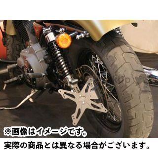 エボテック スポーツスターファミリー汎用 ナンバープレートホルダー Harley-Davidson SPORTSTER フェンダーレスキット ホルダー単品 EVOTECH